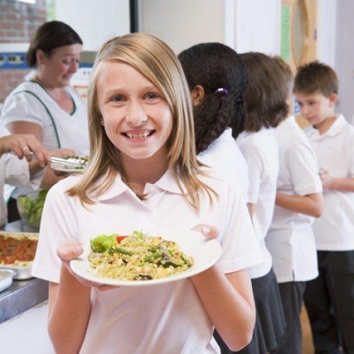 restauración en comedores escolares - niños de primaria